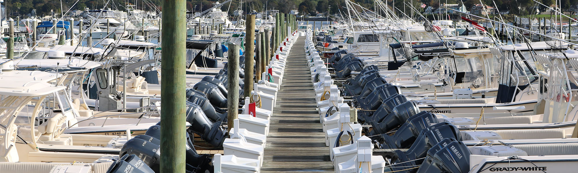 Boats Inc Marina dock outboards